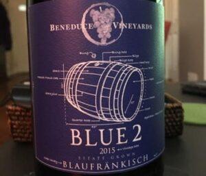 """Beneduce Vineyards """"Blue 2"""" Blaufrankisch - East Coast Wines"""