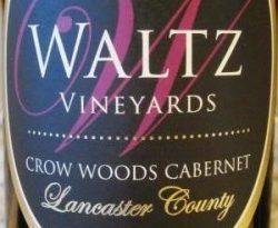 """Waltz """"Crow Woods"""" Cabernet Sauvignon"""