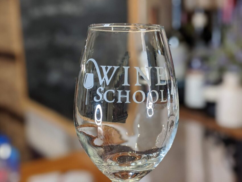 Wine School Glass 2 scaled