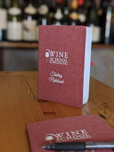 Wine School Tasting Notebook