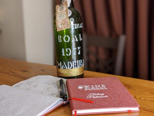 Wine School Tasting Notebook