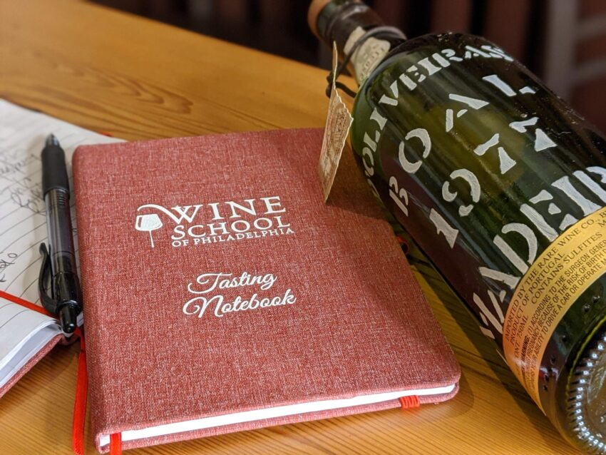 Wine School Tasting Notebook 6 scaled