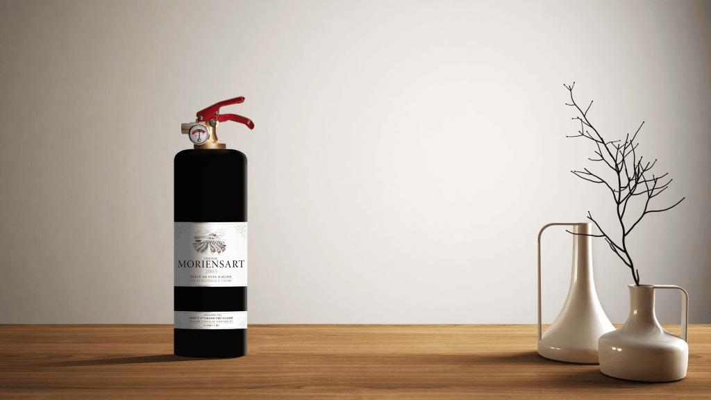 wine fire extinguisher