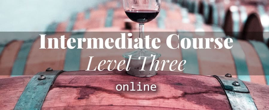 Intermediate Wine Course ONLINE
