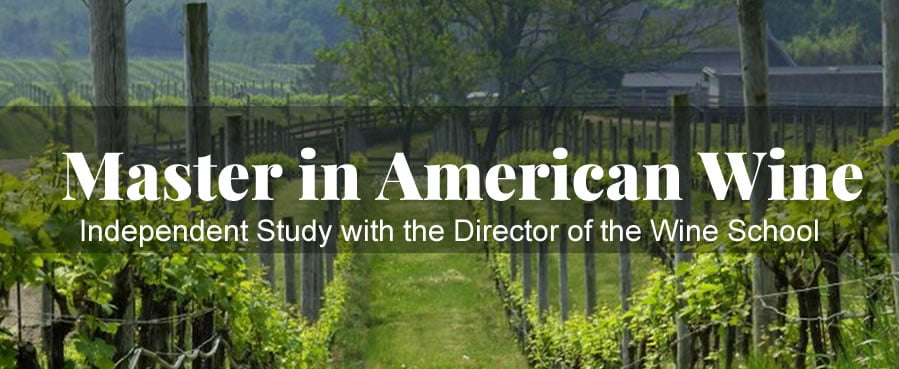 Master in American Wine, Independent Study