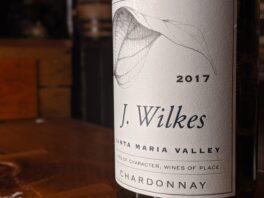 J Wilkes 2017 Chardonnay Santa Maria Valley