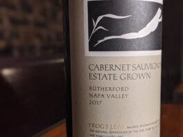 Frog's Leap 2017 Cabernet Sauvignon Rutherford Estate Grown