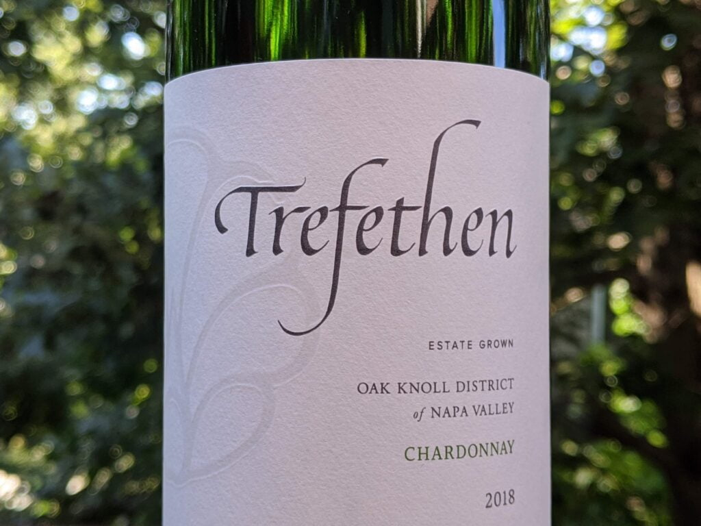 ‌Trefethen 2018 Estate Chardonnay, Napa Valley