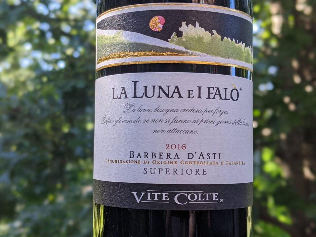 """Vite Colte 2016  """" Luna E I Falo"""" Barbera D'asti Superiore"""