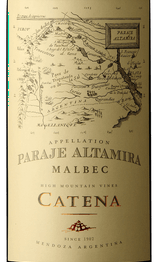 Catena 2017 Paraje Altamira Malbec