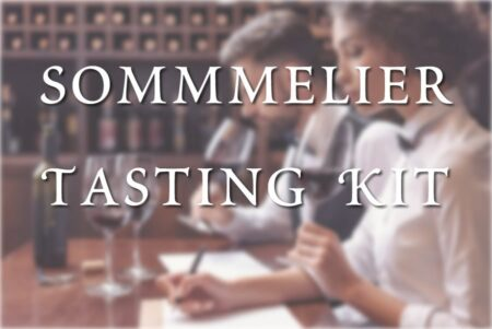 sommelier tasting kit product page