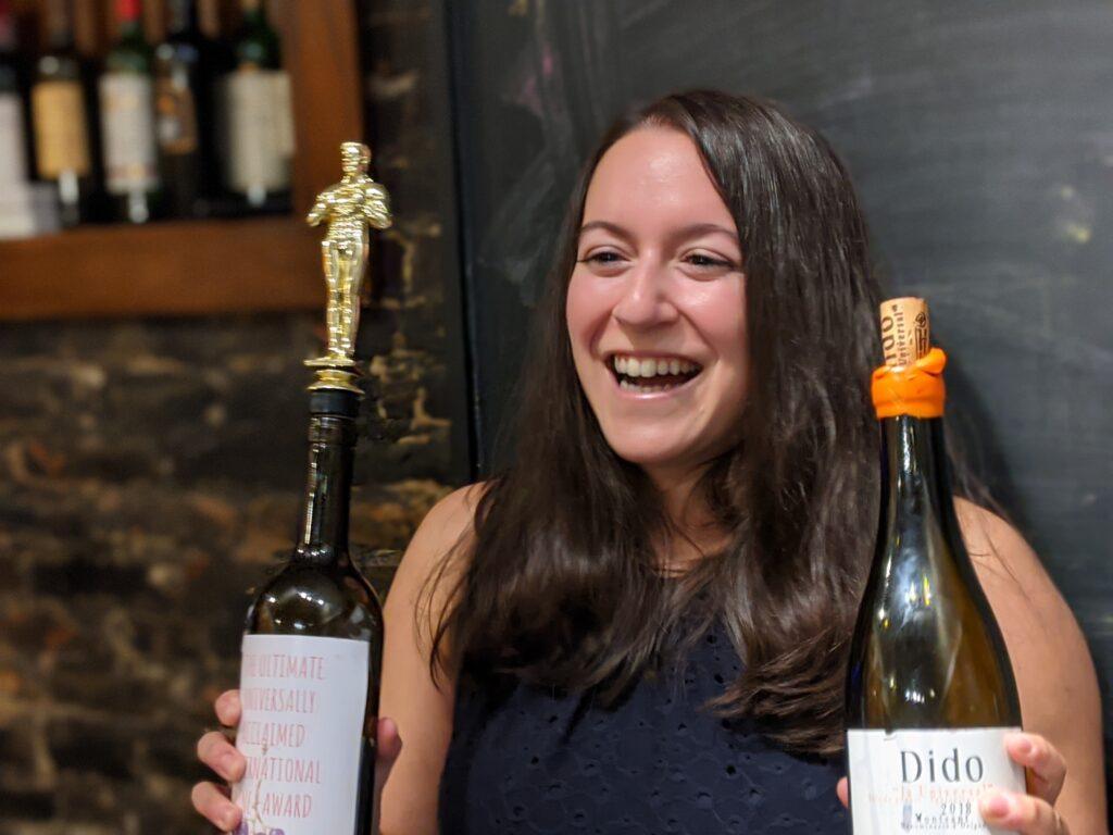 Winner of the Monthly Wine Challenge