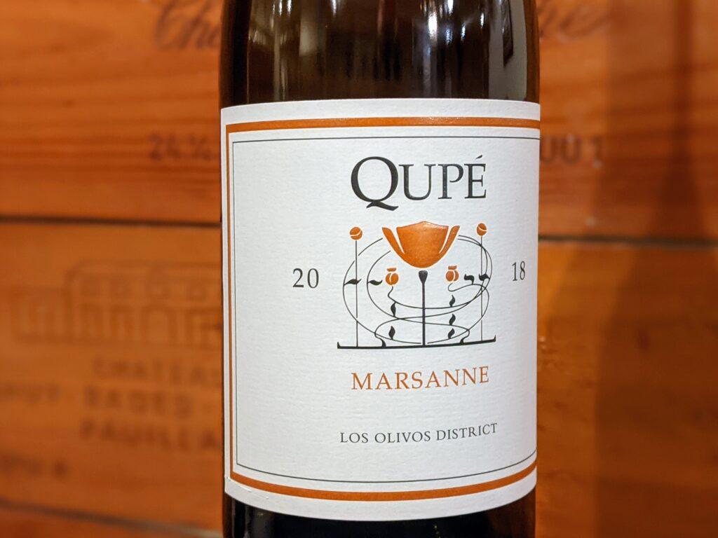 Wine Review of Qupe Marsanne