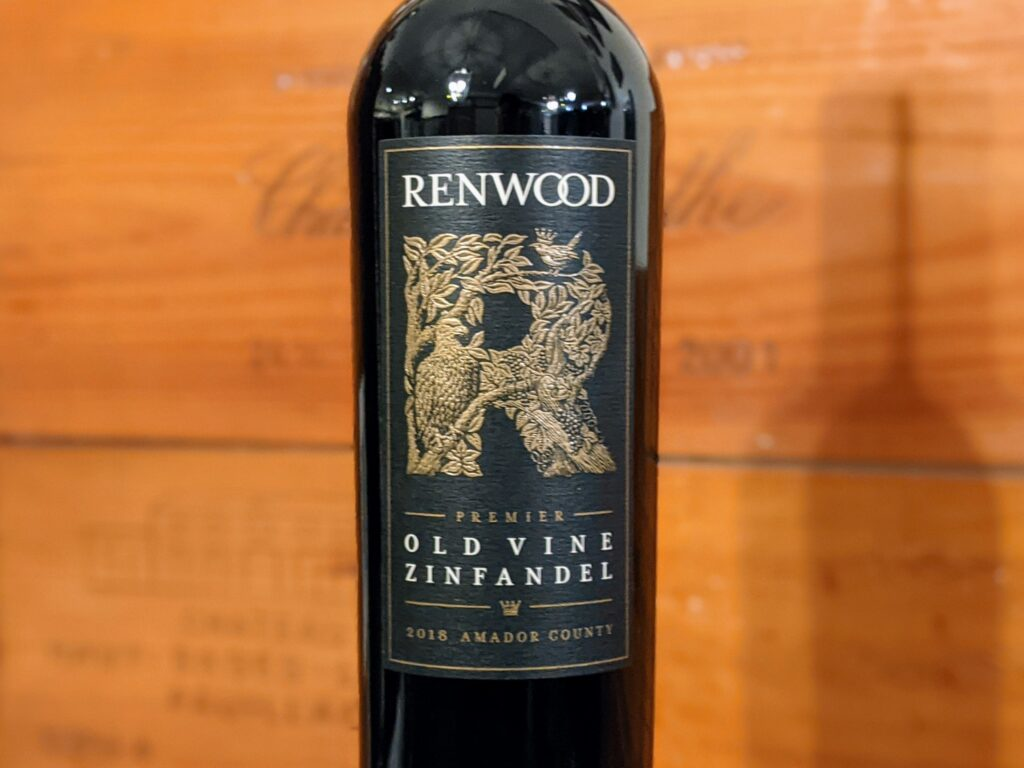 Wine Review: Renwood 2018 Old Vine Zinfandel