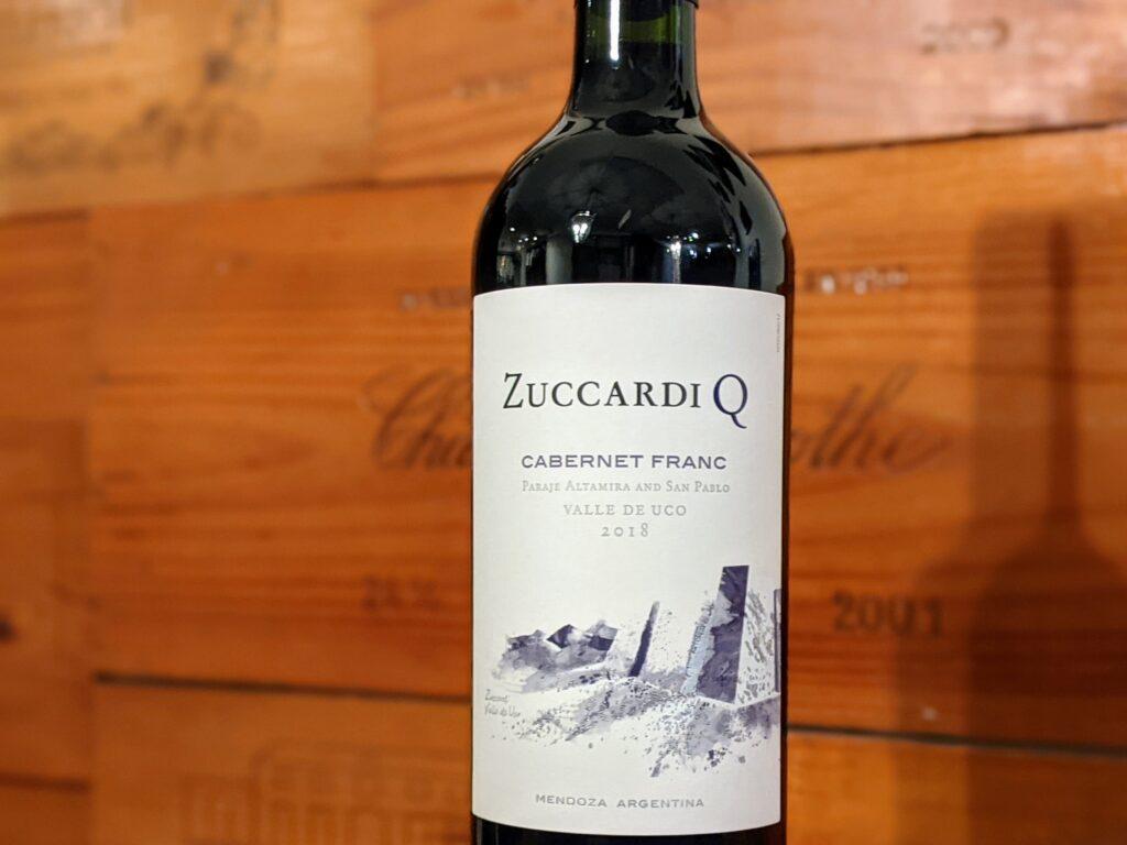 """Wine Review: Zuccardi """"Q"""" 2018 Cabernet Franc, Valle de Uco"""