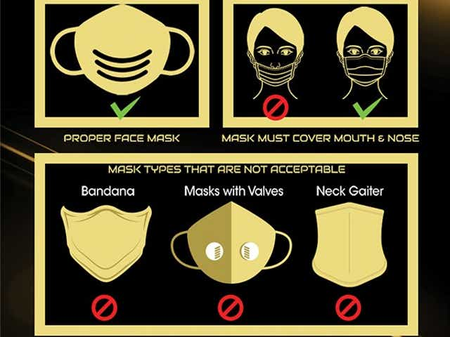 COVID-19 Mask Requirements