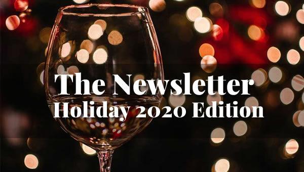 newsletter hero image for Holidays 2020