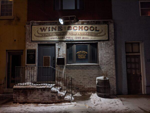 Wine School in February 2021