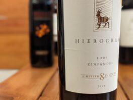 "Hierogram 2018 ""Old Vine"" Zinfandel, Lodi"