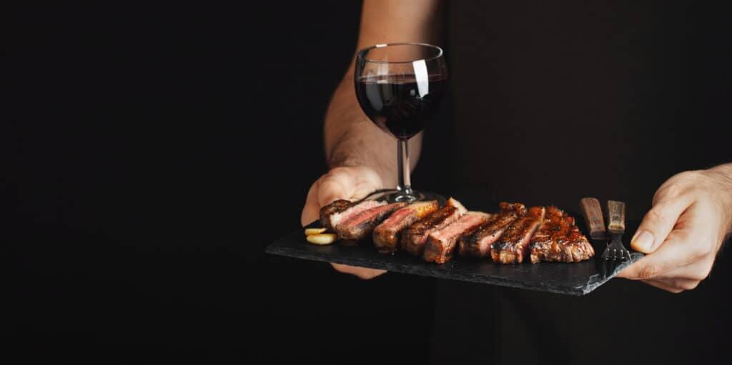 Red Wine and Steak Pairing
