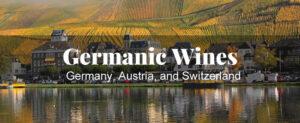 Germanic wine regions