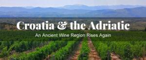 croatia wine class