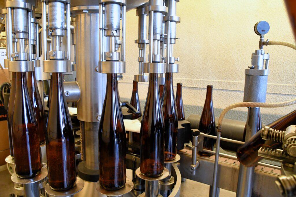 Riesling bottling
