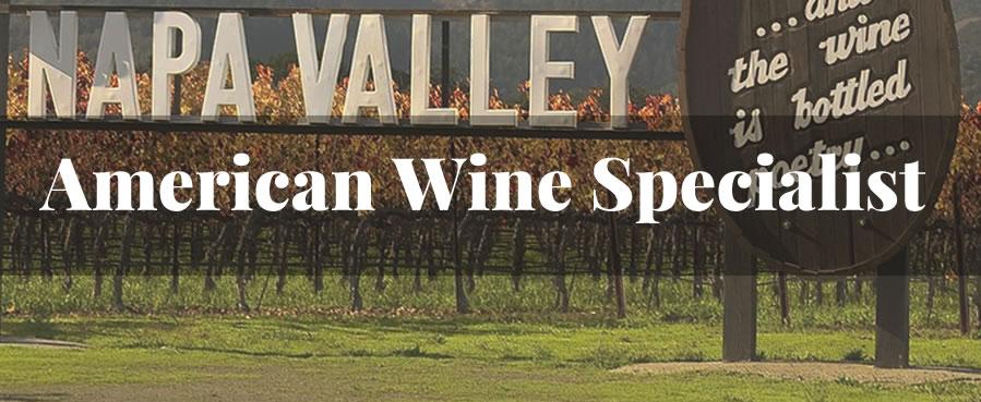 american wine specialist