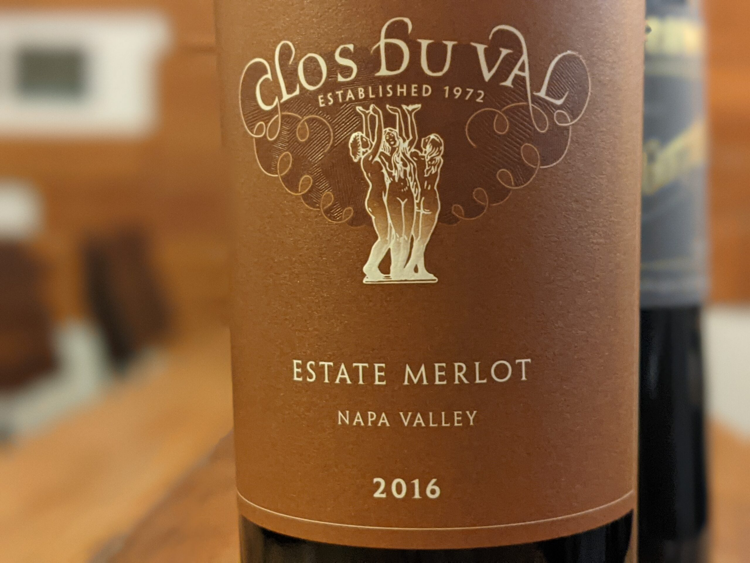 Clos du Val 2016 Estate Merlot