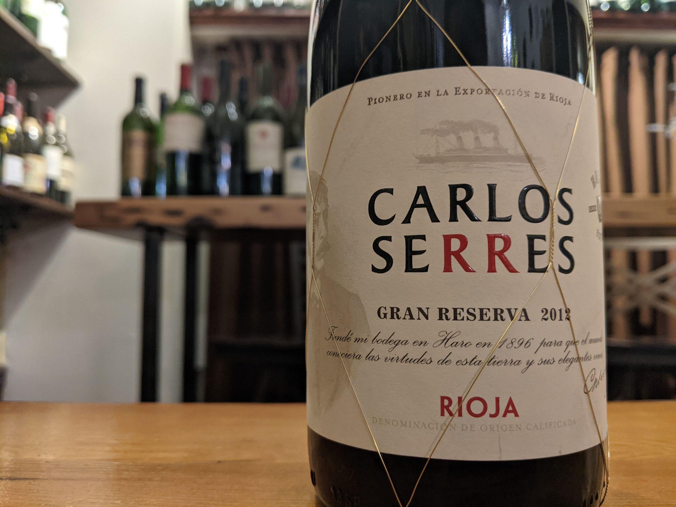 Carlos Serres 2012 Rioja Gran Reserva