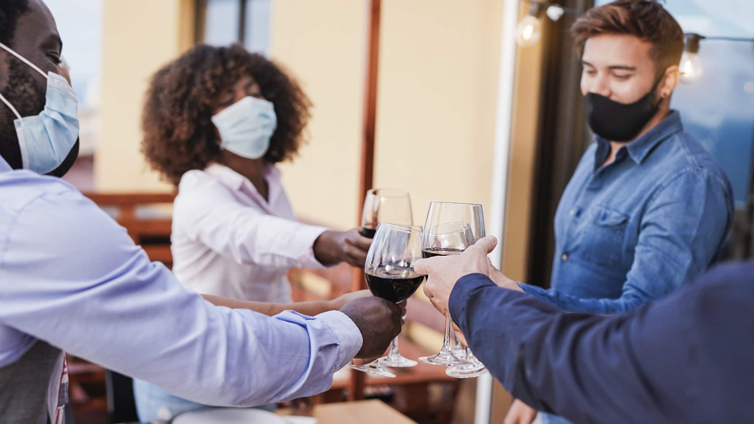 covid regulation at the wine school