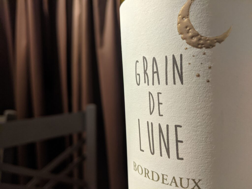 Grain de Lune 2020 Sauvignon Gris, Bordeaux Blanc