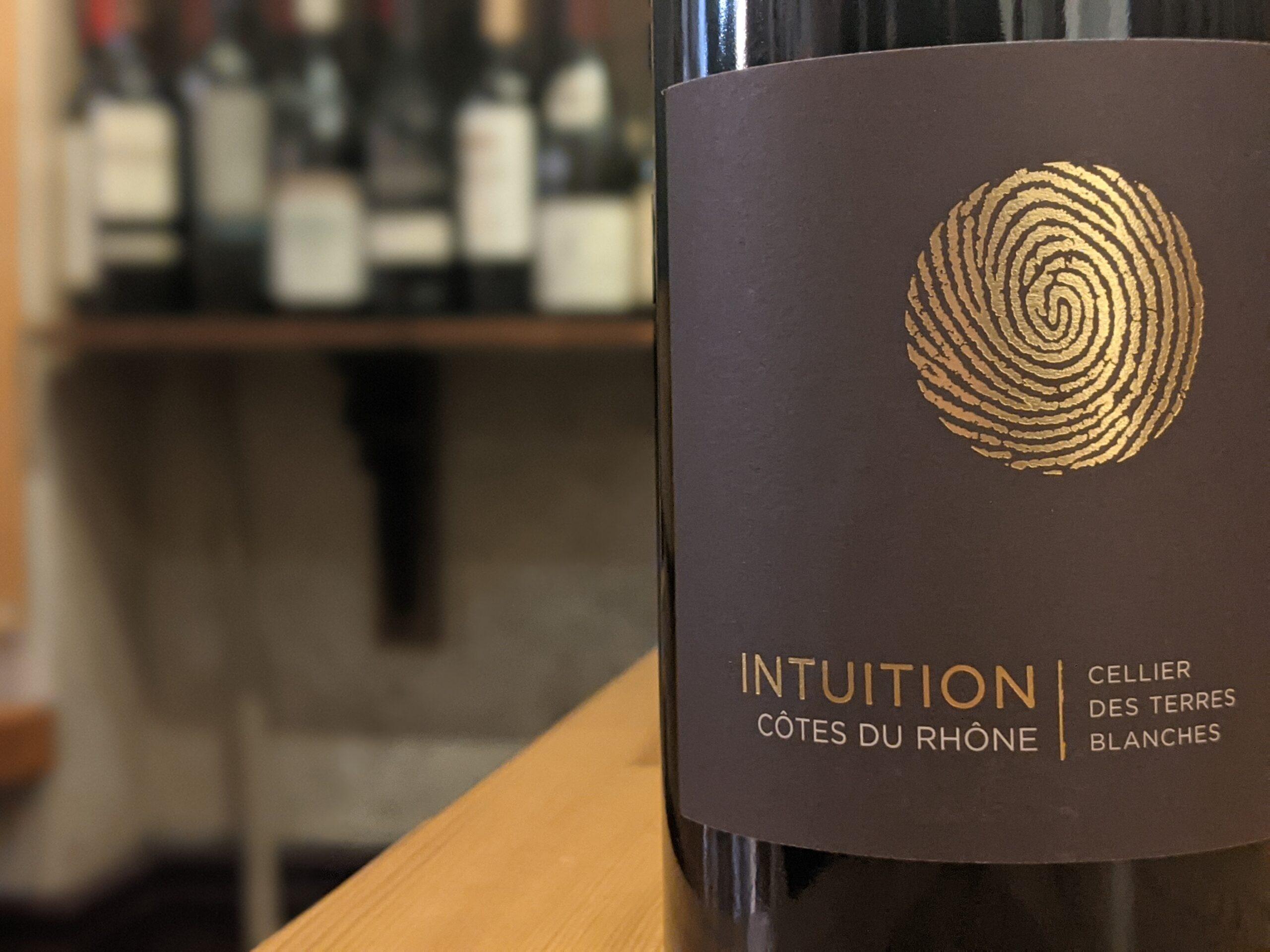 Cellier des Terres Blanches 2019 Intuition Cotes du Rhone Rouge
