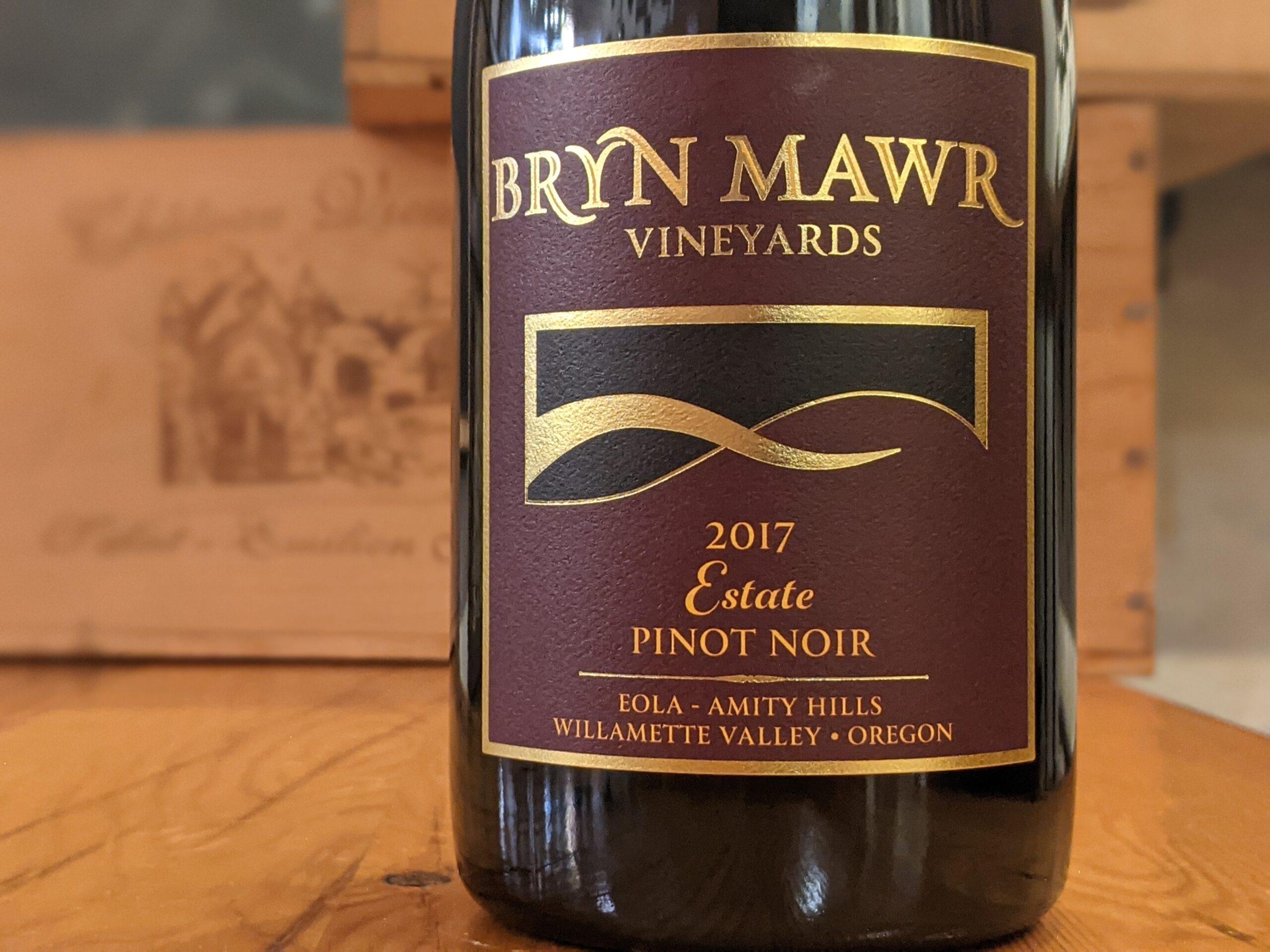 Bryn Mawr Vineyards 2017 Estate Pinot Noir, Eola Amity Hills