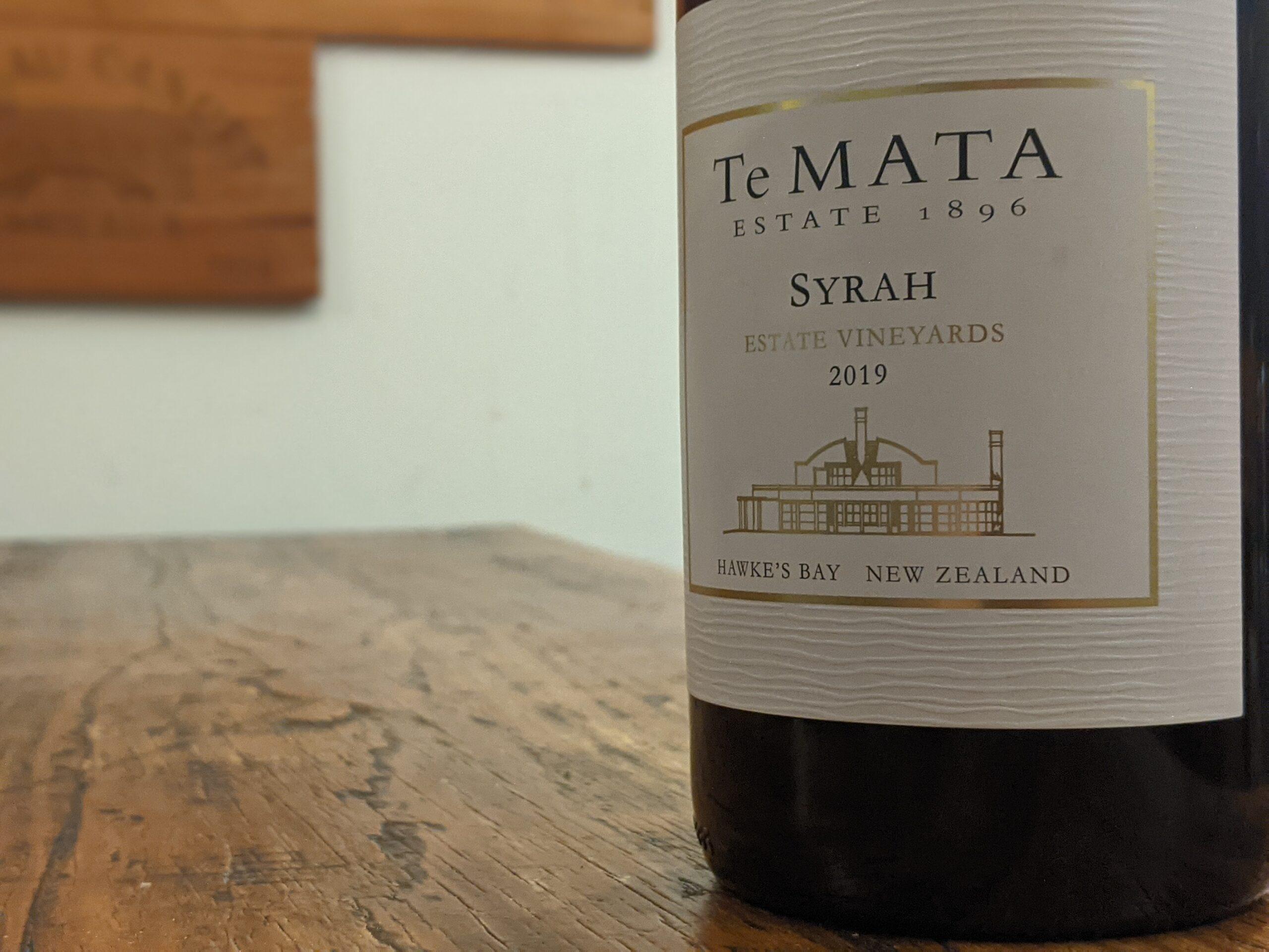 Te Mata 2019 Estate Vineyards Syrah, Hawke's Bay